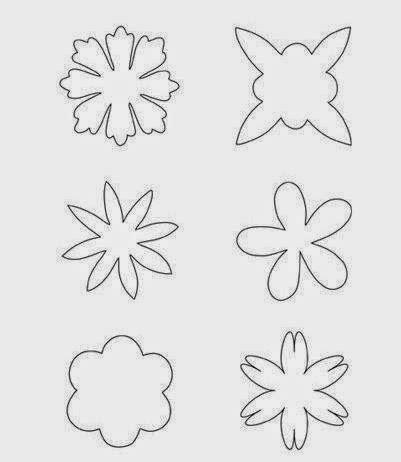 moldes de rosas para imprimir para fundas para celular moldes y dise 241 os de flores en fieltro cositasconmesh