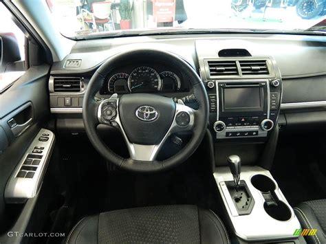 Toyota Camry 2012 Interior by Black Interior 2012 Toyota Camry Se Photo 59675473
