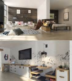 Simple Bedroom Designs studio apartment interiors inspiration