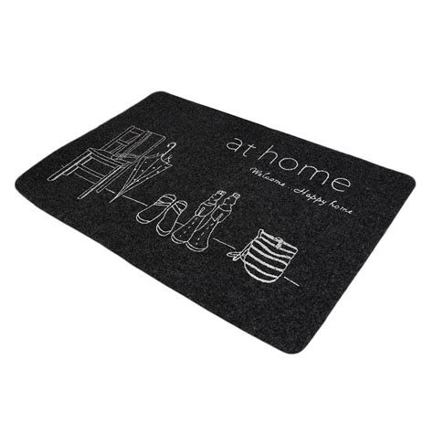 Ultra Thin Bath Mat Ultra Thin Non Slip Bath Home Mats Entrance Door Doormat Home Foyer Floor Mud Oe Ebay