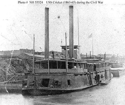 civil war boats uss cricket 1862 wikipedia