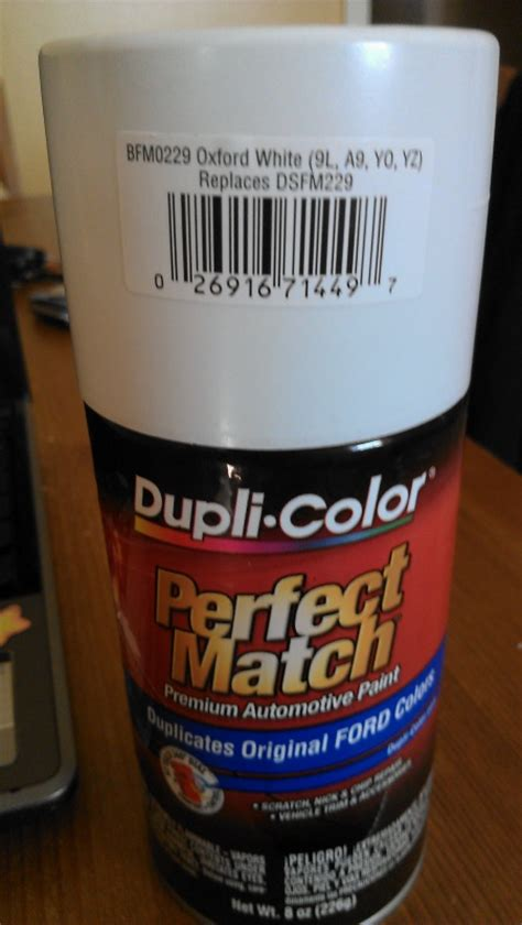 duplicolor find my color duplicolor touch up not matching ford f150 forum