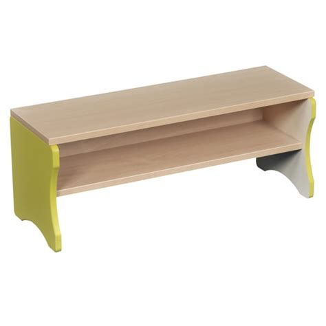 nursery storage bench storeaway bench from early years resources uk