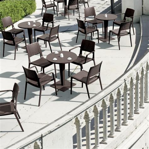 Commercial Patio Tables Commercial Patio Tables And Chairs Commercial Outdoor 46 Quot Expanded Metal Table Select