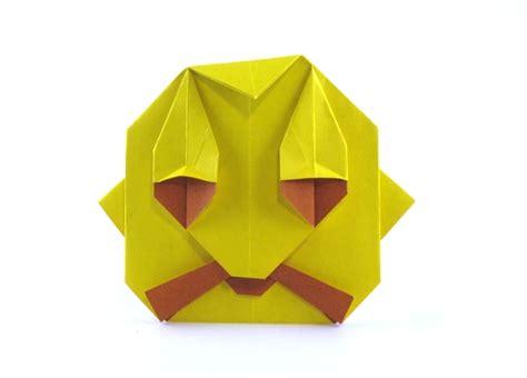 Origami Database - mr moustache budai gilad s origami page