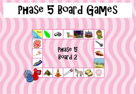 printable phonics games phase 5 phase 5 phonics board game by happypure13 teaching