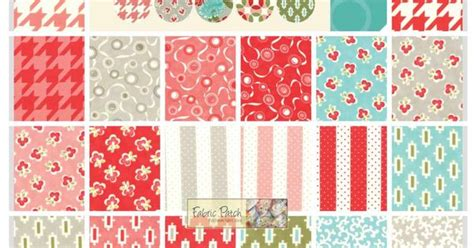 Patchwork Quilting Supplies - vintage modern charm square patchwork quilting fabric