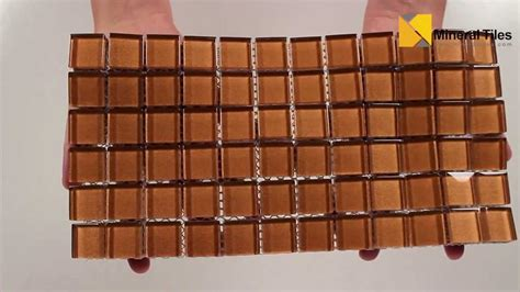 copper glass tile backsplash glass mosaic tile backsplash copper 1x1 101chiglabr118