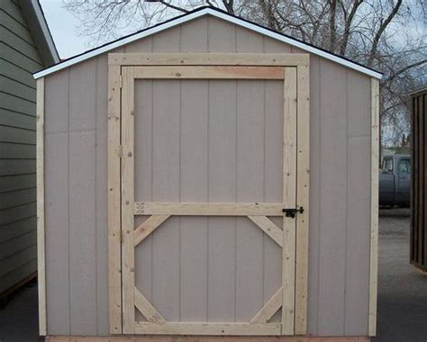 How To Build A Shed Door by How To Build A Shed Door Out Of Plywood Shed Door Home