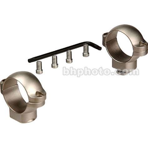 leupold std rings 30mm high silver 52496 b h