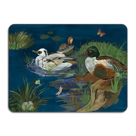 table creek and kiely buy avenida home nathalie lete ducks in a creek table mat
