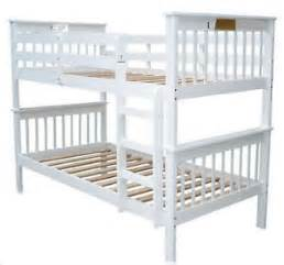 Loft Beds Ebay Australia Single Bunk Bed Australian Standards Approved White Ebay
