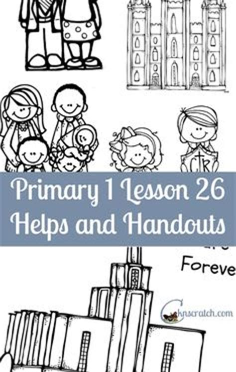lds coloring pages families can be together forever behold your little ones lesson 20 i will be reverent