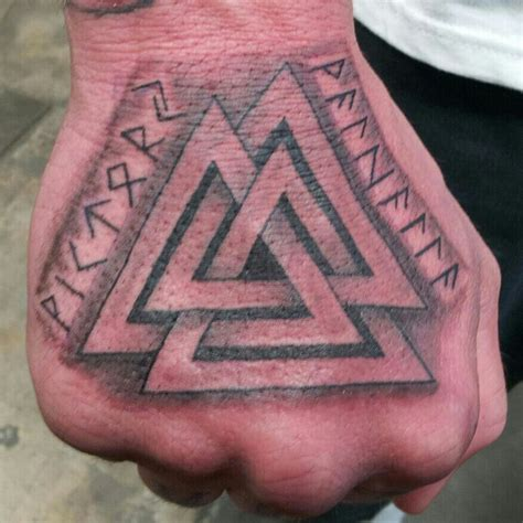 valknut tattoo viking symbal is called valknut ancestry that is