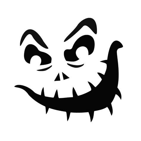 7 best images of printable jack o lantern pumpkin stencil
