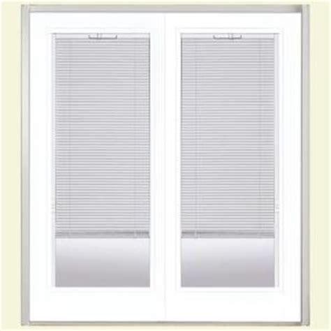 Patio Door Blinds Home Depot by Masonite Steel Patio Door With Blinds Between Glass At