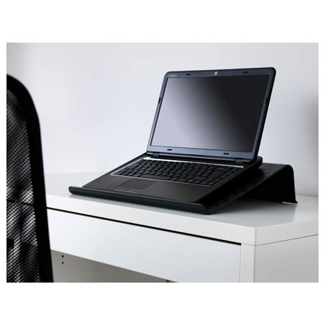 Laptop Help Desk Br 196 Da Laptop Support Black 42x31 Cm Ikea