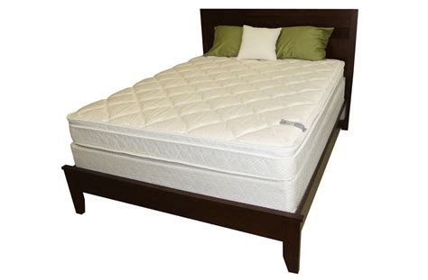 full size bed set 13 euro box top spring mattress and bed frame set king no