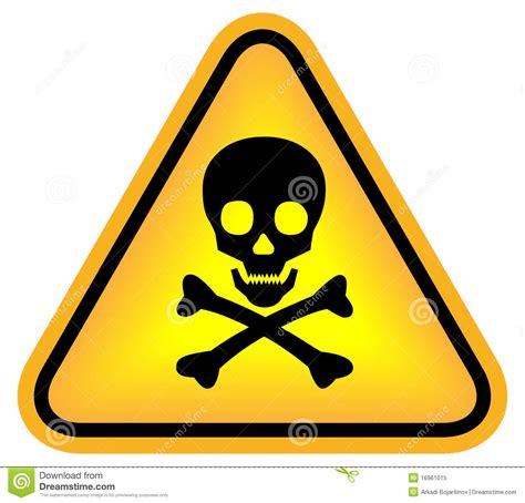 imagenes de simbolos que representen peligro segno mortale del pericolo illustrazione vettoriale