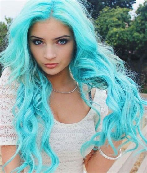 turquoise hair color bold turquoise hair colors for 2017 best hair color