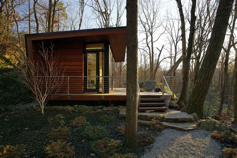 Tiny House Cottage by Gallery A Modern Studio Retreat In The Woods Workshop