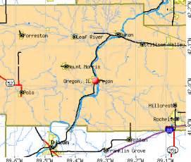 oregon illinois il 61061 profile population maps