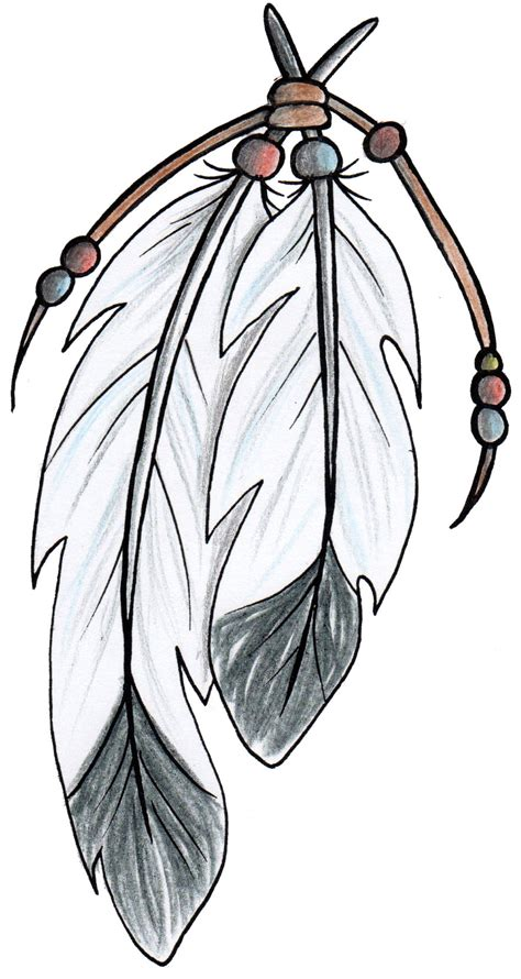 native feather tattoo designs american style feathers design