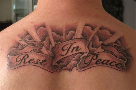rest in peace tattoo 25 memorable rip designs entertainmentmesh