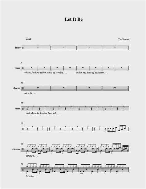 The Beatles - Let it be   Барабаны