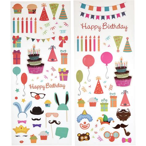 Usa Scrapbook Stickers