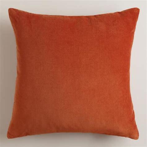 Rust Pillows rooibos rust throw pillows world market