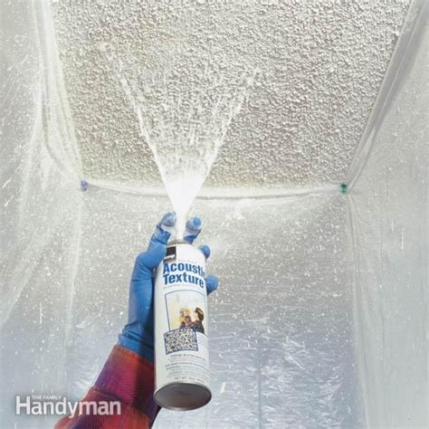 remodeling how should i patch a popcorn ceiling home