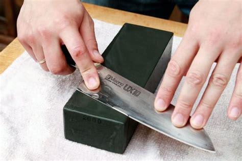 best way to sharpen a kitchen knife the basics kitchen