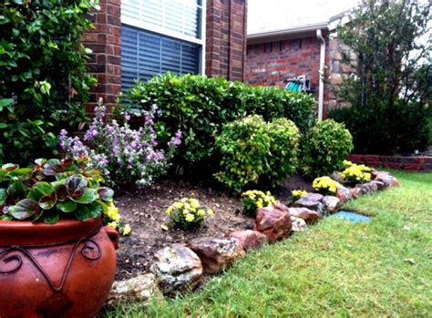 small flower bed ideas desert landscaping ideas for front yard home decorating