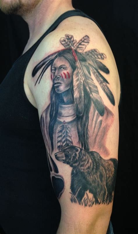 native american bear tattoos 152 best moonlight tattoos images on moonlight