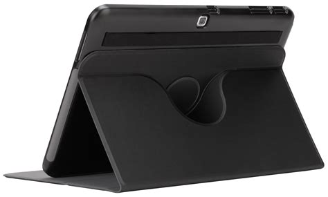 Targus Samsung Tab3 7 360 Rotating With 4 Stand Support Position Leather Sarung Kulit Tab 3 10 1 quot custom fit 360 for samsung galaxy tab 4 thz556us black tablet cases targus