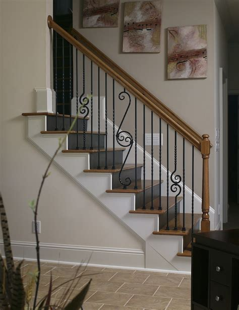 Cost Of New Banister And Spindles 2017 wood stairs installation cost repair wood stairs