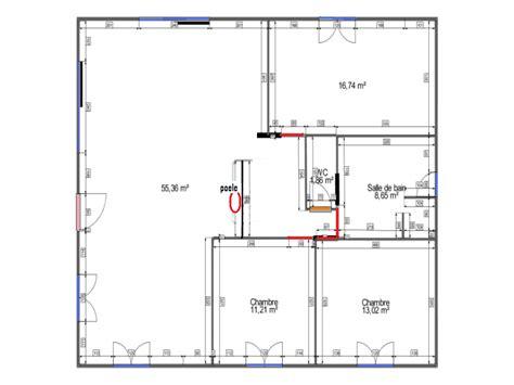 plan pavillon 100m2 plan d une maison plein pied de 100m2
