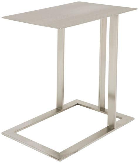 silver metal side table silver metal side table hgta407 nuevo