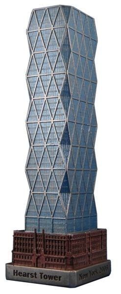 100 Floors 56th Floor by Replica Buildings Infocustech Hearst Tower 100 New