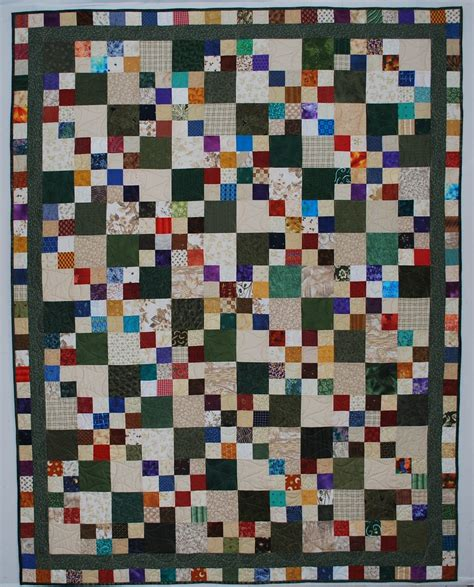 nickel quilts nickel four patch quilt