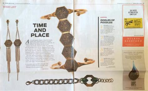 sf chronicle style section press annachich jewelry