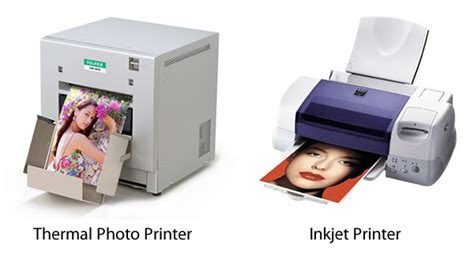 thermal inkjet printing thermal and inkjet photo printing compared 121clicks