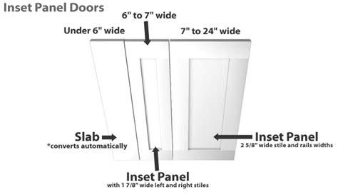 Shaker Cabinet Door Dimensions Shaker Beadboard Inset Panel Cabinet Door