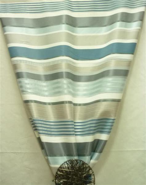 kinderzimmer deko petrol deko stoff gardine vorhang querstreifen wei 223 grau petrol