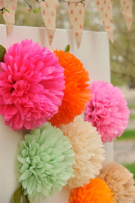 How Do You Make Flowers Out Of Paper - how to make paper flowers project nursery