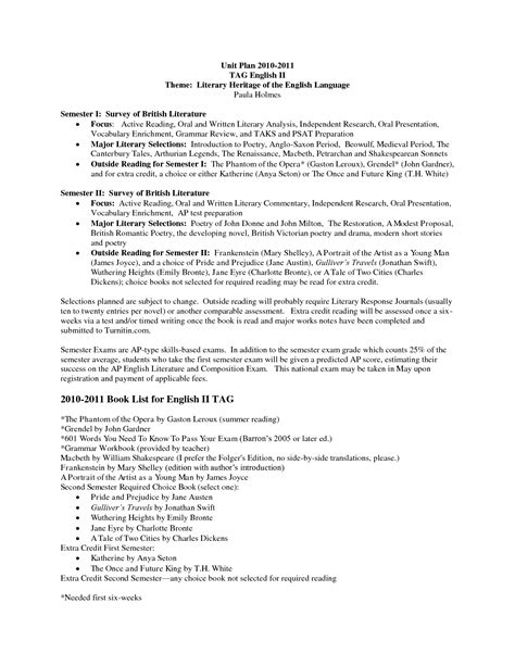 proposal format in english literature review proposal