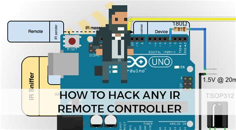 tutorial arduino ir remote how to hack any ir remote controller alan zucconi