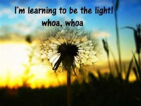 Learning To Be The Light Lyrics the best 28 images of learning to be the light lyrics