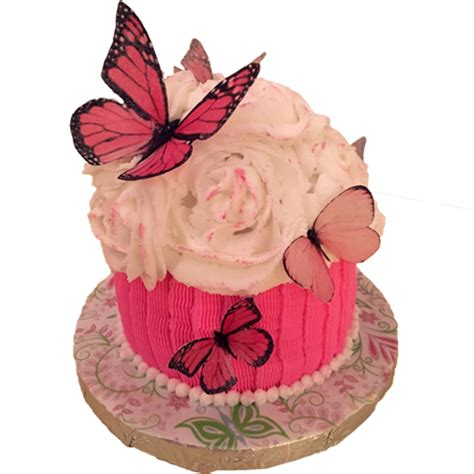 wafer paper butterfly tutorial wafer paper butterfly cake